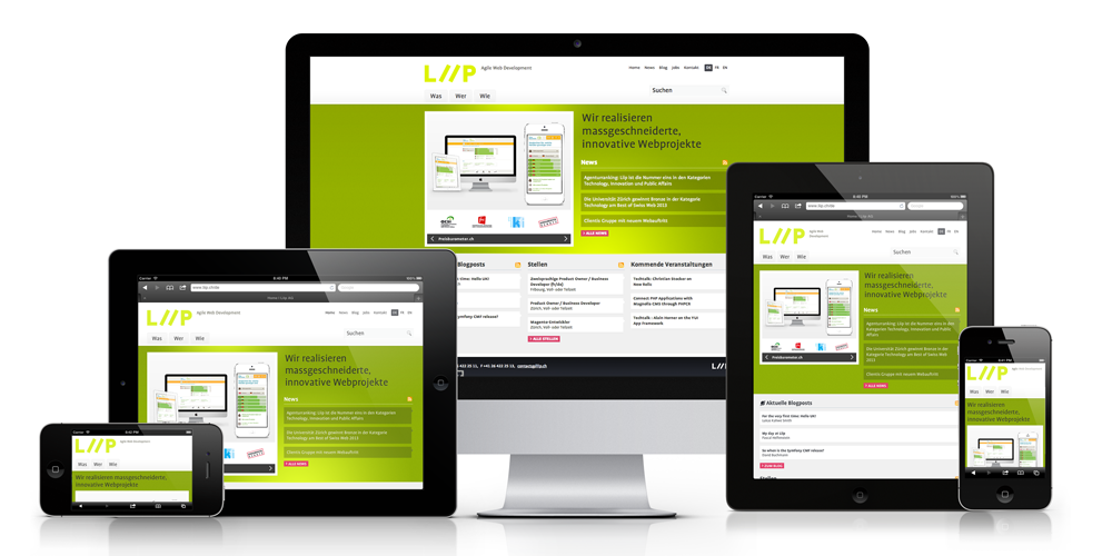 Responsive web design annex graphics boutique oakville for Architecture site web