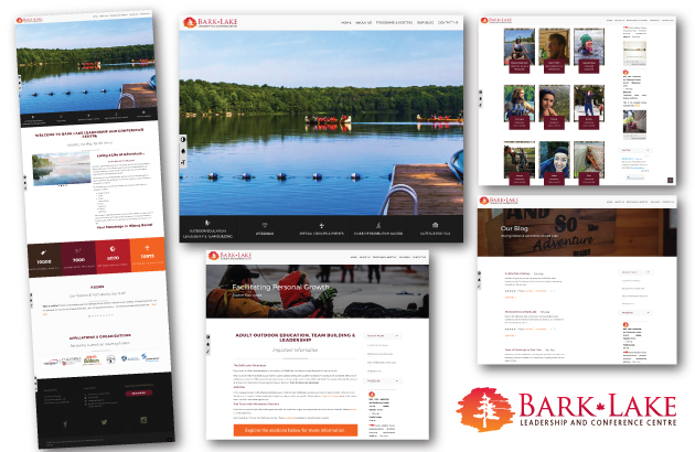 Bark Lake Leadership and Conference Centre Website Development